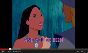 Pocahontas - Colors of the Wind (附歌詞)