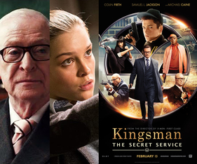 Michael Caine、Sophie Cookson、Kingsman : The Secret Service