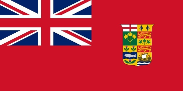 加拿大紅船旗 (Canadian Red Ensign Flag)