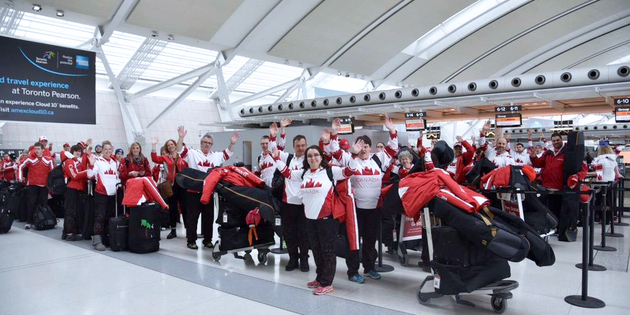 (Photo from Toronto International Airport facebook)