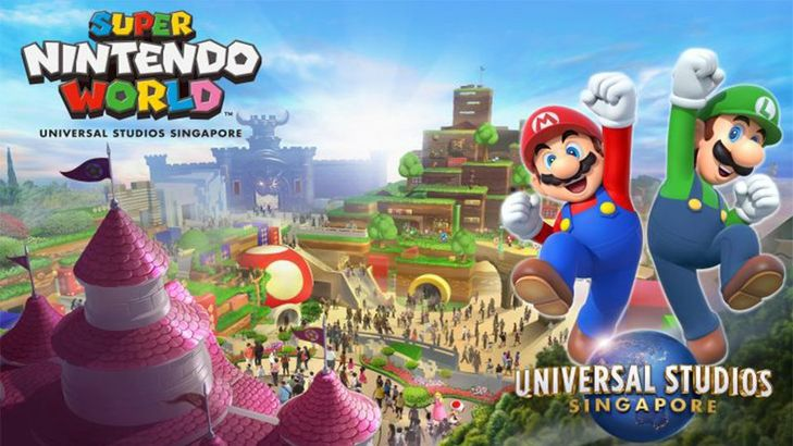 「超級任天堂世界 Super Nintendo World 」。