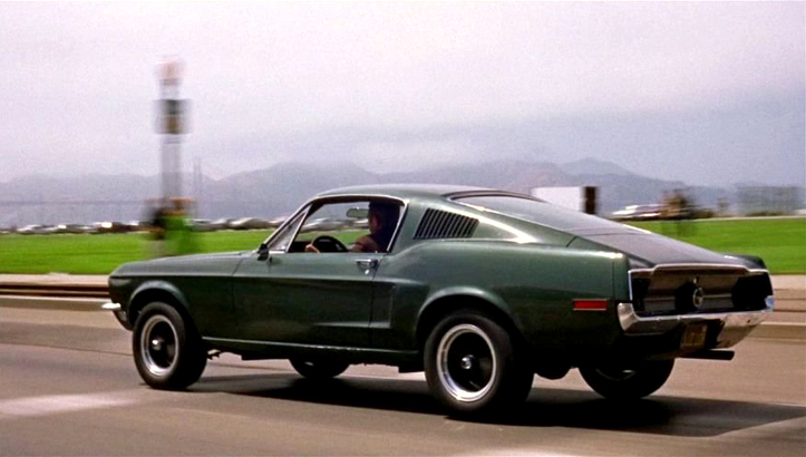 1968 年《Bullitt》電影中 Steve McQueen 駕駛的 Mustang II。(Photo from IMCDb.org)