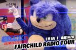 《SONIC THE HEDGEHOG》Fairchild Radio Tour