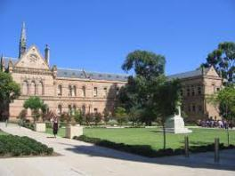 University of Adelaide (阿德雷德大學)