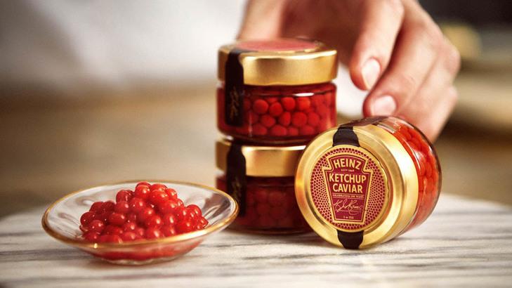 情人节送什么?浪漫不失优雅!Heinz Ketchup Caviar 茄汁魚子醬