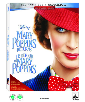 Blu-ray™  請你看好戲 《MARY POPPINS RETURNS》