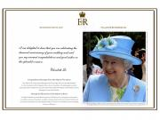Birthday messages from the Queen 請英女王來跟你家的長輩祝壽