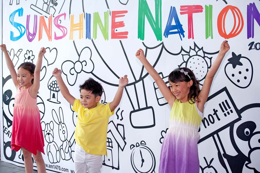 Sunshine Nation 8 強曝光